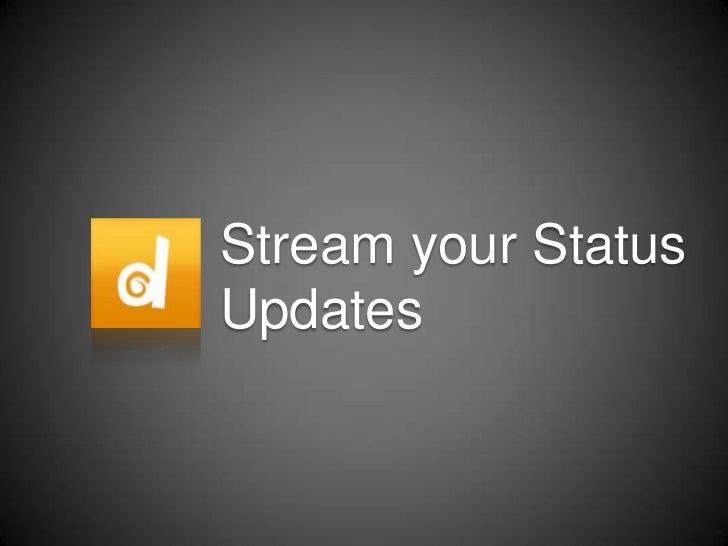 Duuble - Stream your status updates