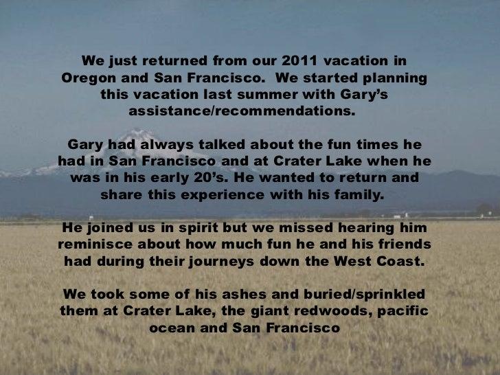 Honoring Gary