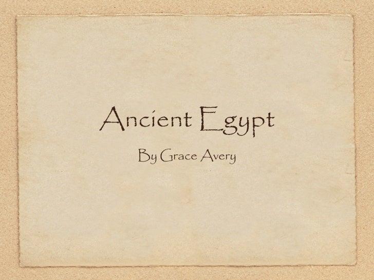 Presentation1 Ancient Egypt