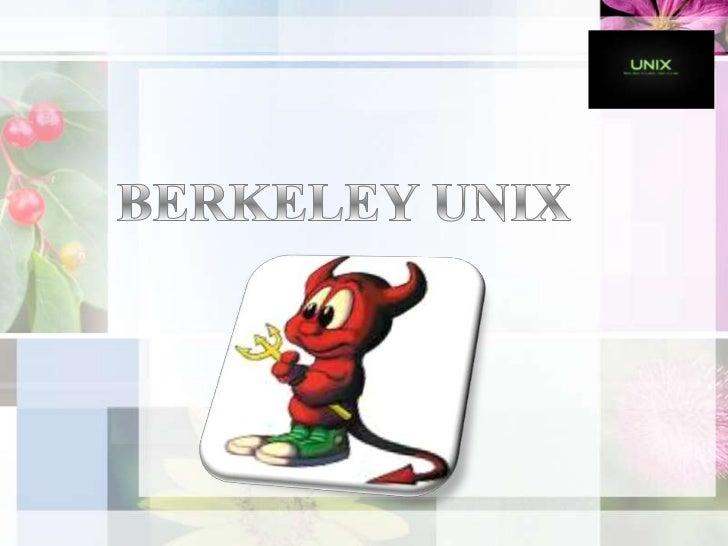 BERKELEY UNIX<br />