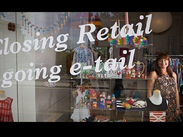 Tendencies in retail branding and design
