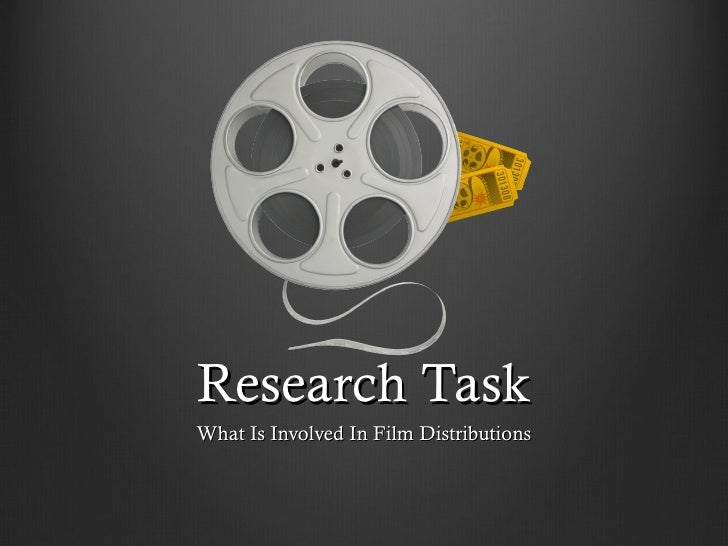 Film Distributor 'Research task'