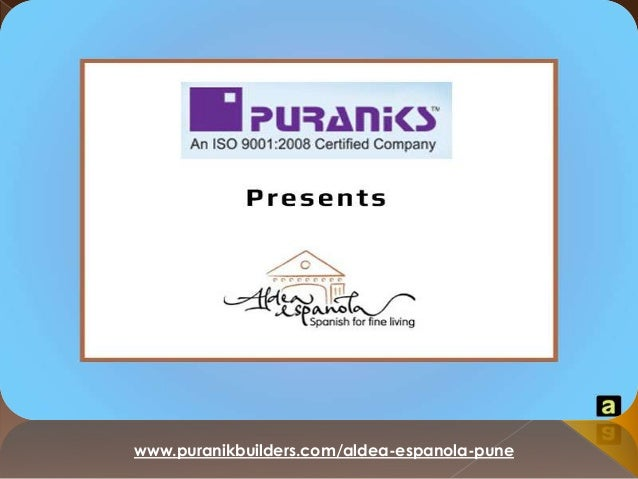 Spanish style living in India - Luxurious villas & bungalows in Baner Pune at Aldea Espanola by Puranik Builders