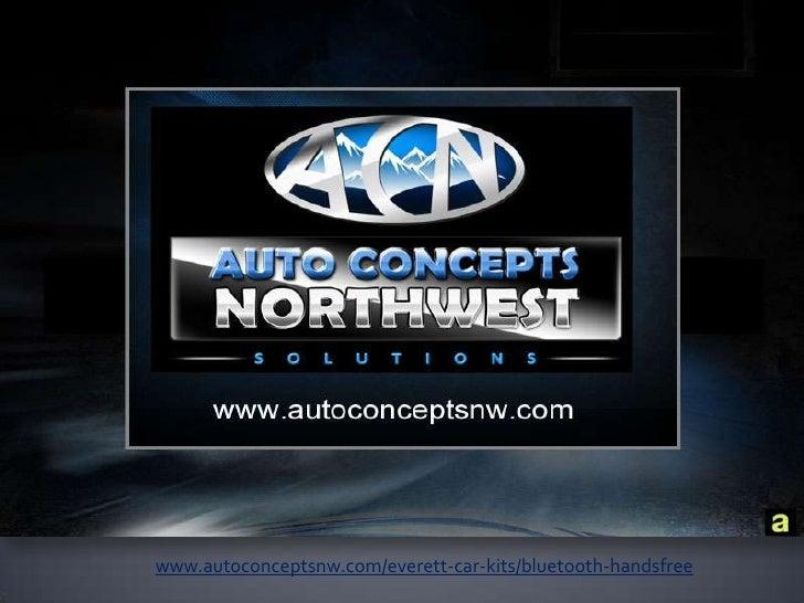 Bluetooth Handsfree system installation - Everett, Seattle - Auto Concepts Northwest