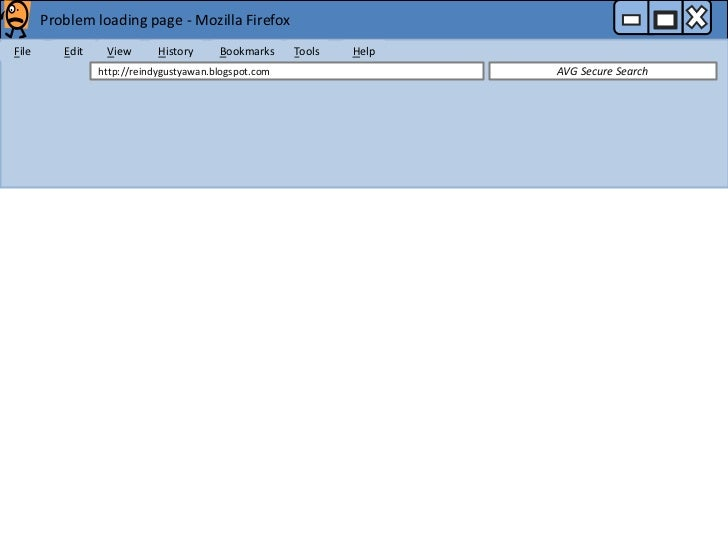 Problem loading page - Mozilla FirefoxFile      Edit    View       History     Bookmarks     Tools   Help                 ...