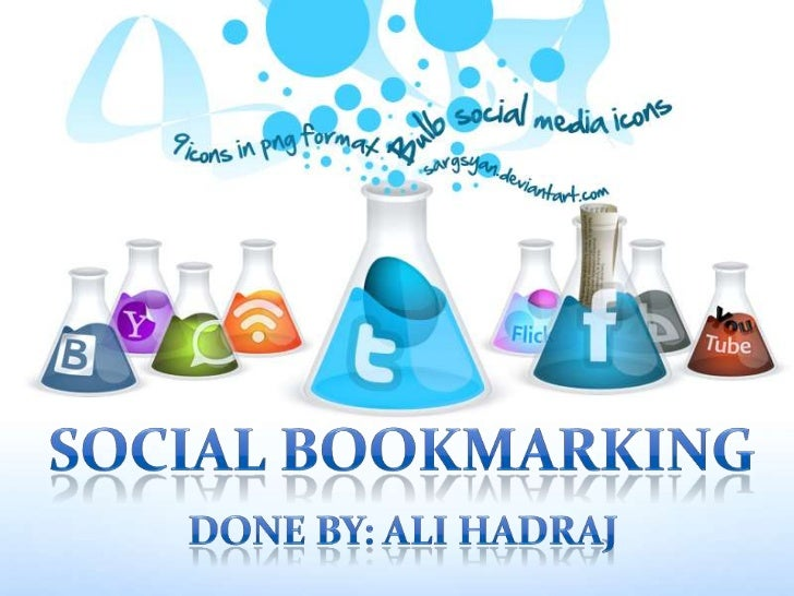 Introduction: What is Social Bookmarking ?Examples Of Social BookmarkingDelicious.comCharts and Graphs on most used social...