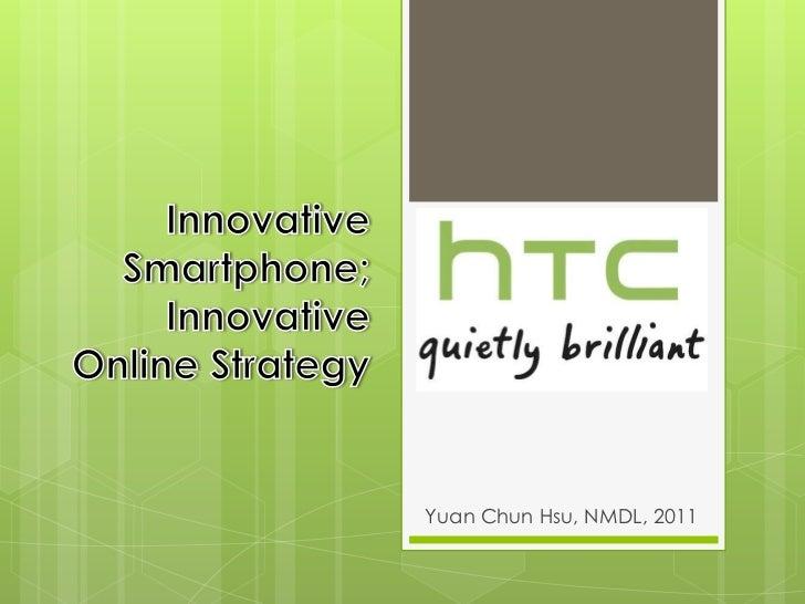 HTC online strategy