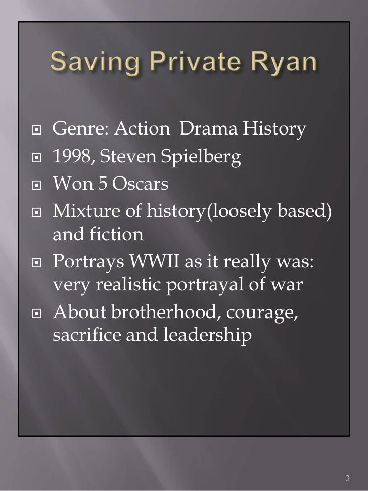 saving private ryan 2 essay