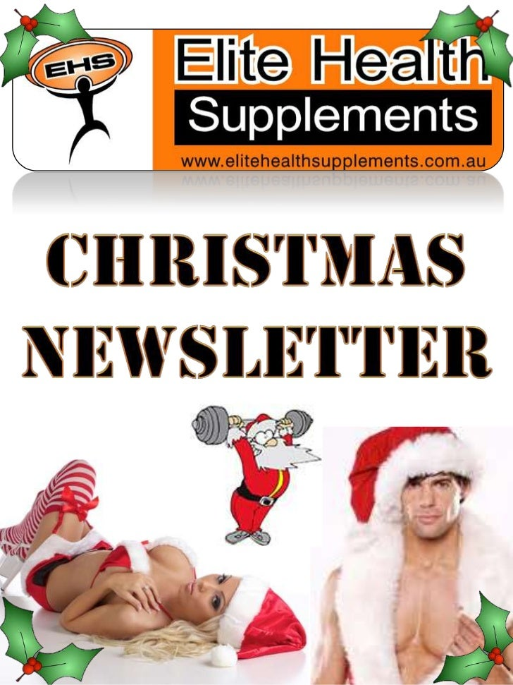 • Elite Health Supplements would like to  wish all their loyal customer a very  MERRY CHRISTMAS!• This quick December News...