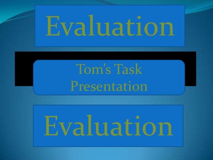 Tom Term 4 Task Presentation