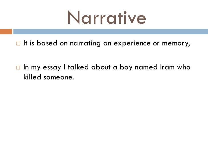 descriptive essay about a boy