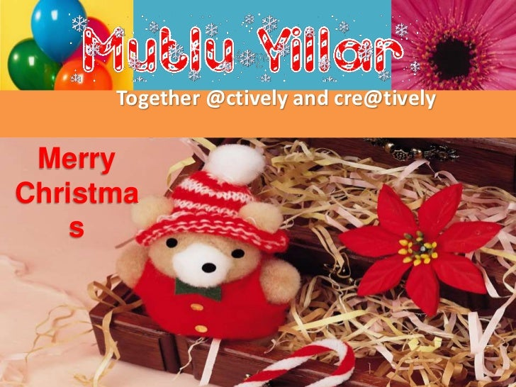 Together @ctively and cre@tively MerryChristma    s