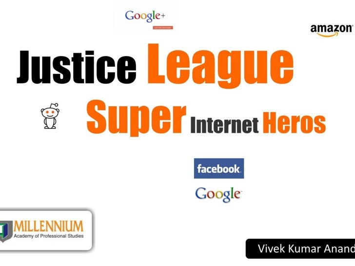 Justice League - Super Internet Heroes