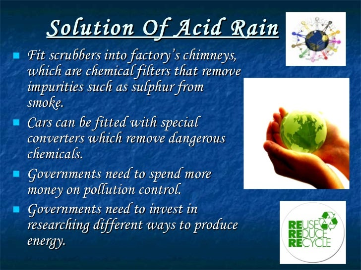 Acid Rain Essay