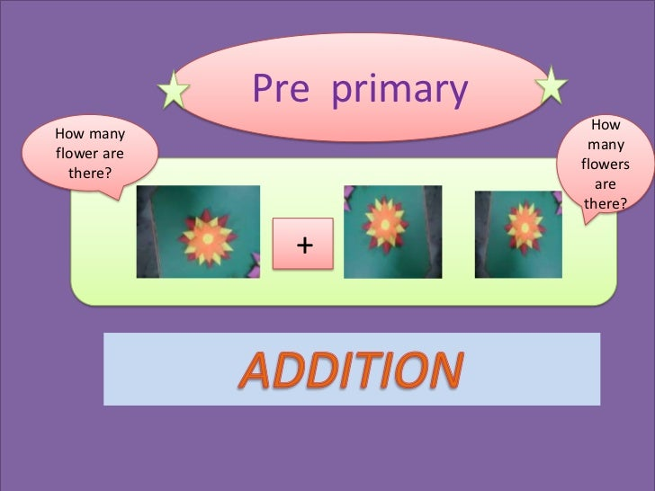 Pre primary                             HowHow many                             manyflower are                           f...