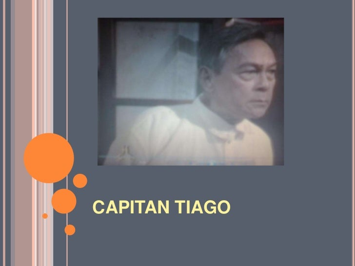 CAPITAN TIAGO