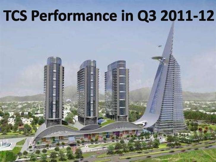 January 30, 2012   TATA Consultancy Services   1