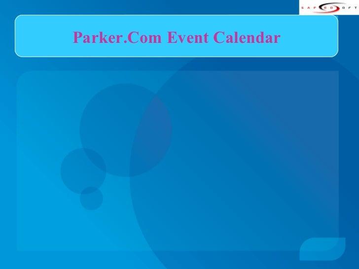 Parker.Com Event Calendar