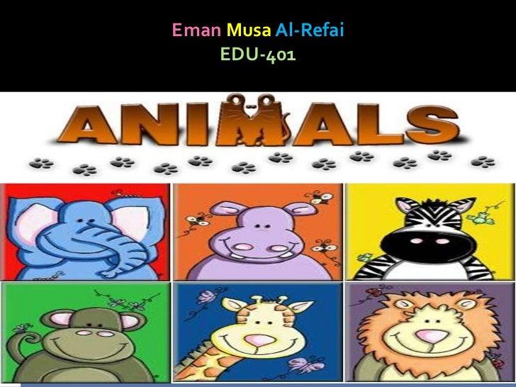 Eman Musa Al-Refai    EDU-401