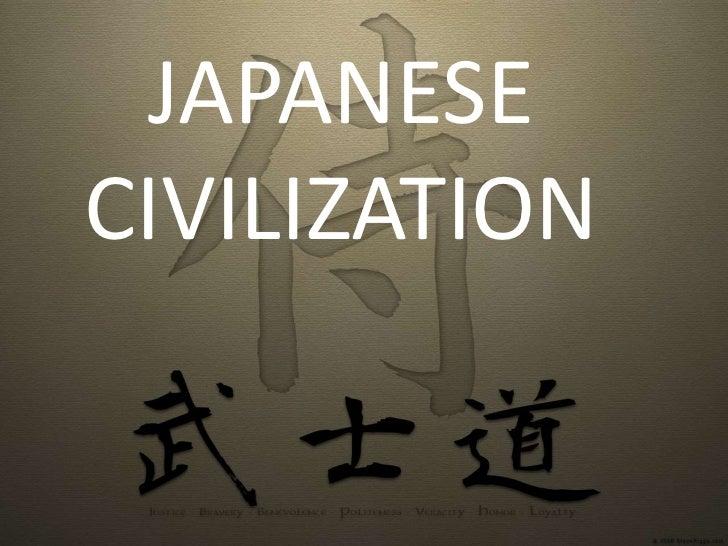 JAPANESECIVILIZATION