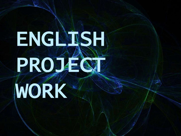 ENGLISHPROJECTWORK