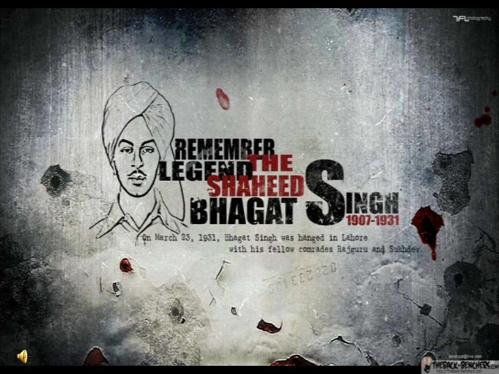 TRIBUTE TO BHAGAT SINGH