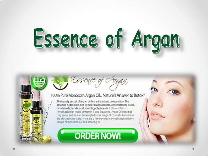 "Have you everencountered thephrase ""Essence ofArgan"" or heard itfrom someoneelse?"