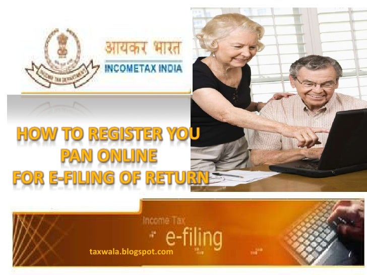 How to reg. your pan online for filing income tax return