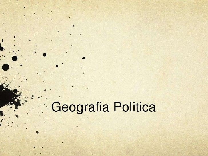 Aula Geopolitica