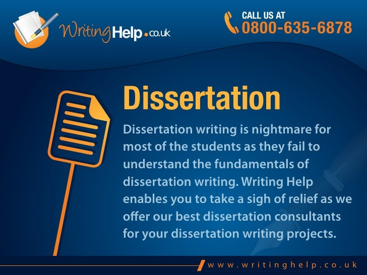 Best Dissertation Service Uk