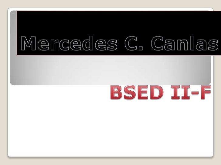 Mercedes Canlas