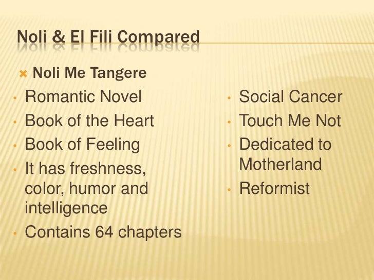 comparison of el filibusterismo and noli me tangere Comparison between noli and fili ana marie lee noli me tangere & el filibusterismo - duration: excerpts from noli me tangere.