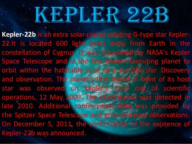an introduction to the analysis of kepler 1 introduction in april 2013, nasa's kepler mission reported [1] the analysis of the semi-major axis values of kepler-62's planets b-f revealed an exponential.