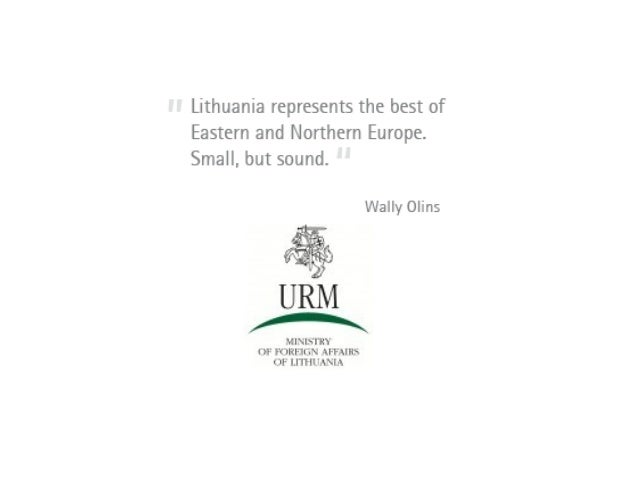 Lithuania and the European UnionLithuanias Security PolicyLithuanias Economic PolicyLithuania in the Region and in the Wor...