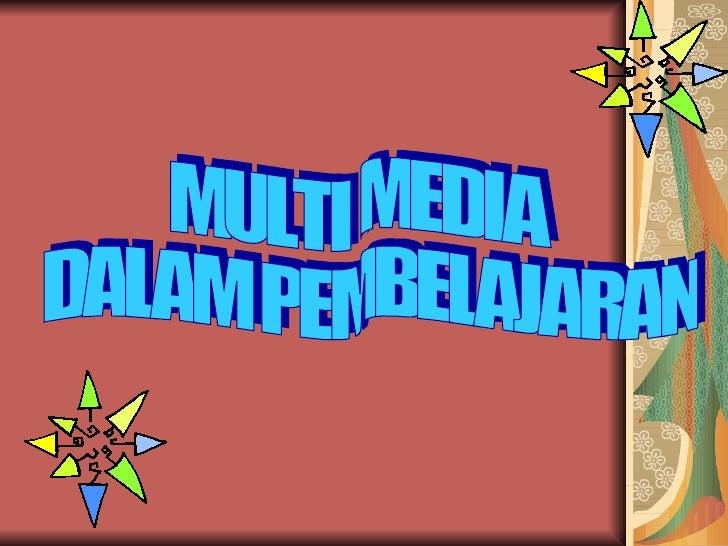 Multi Media Dalam Pembelajaran