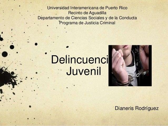 Universidad Interamericana de Puerto Rico               Recinto de AguadillaDepartamento de Ciencias Sociales y de la Cond...