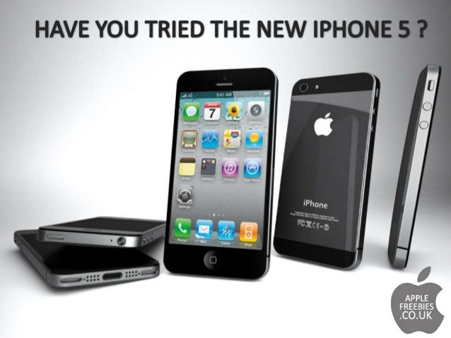 Free Brand New Apple Iphone5 !