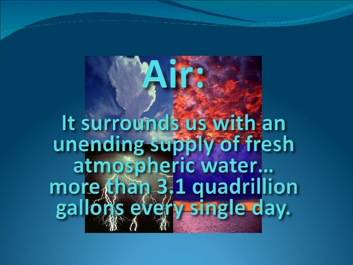 Introducing the Dewpointe™ Atmospheric Water System