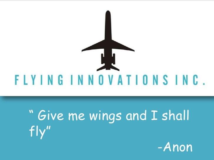 Flying Innovations Inc.