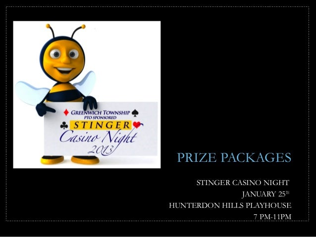 Stinger Casino Night 2013