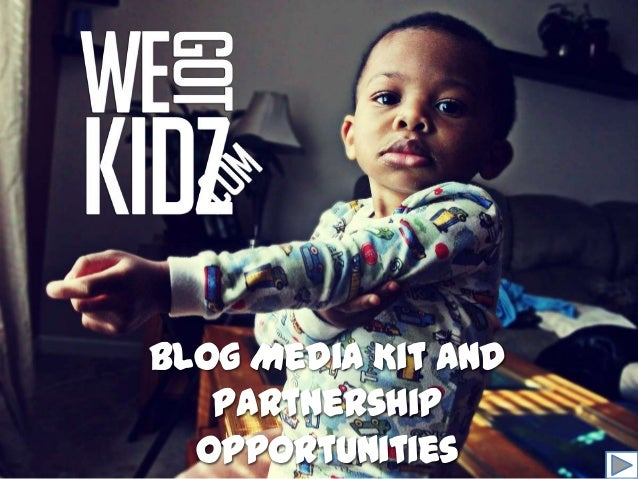 Blog Media Kit and   Partnership  Opportunities