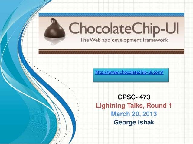 ChocolateChip-UI