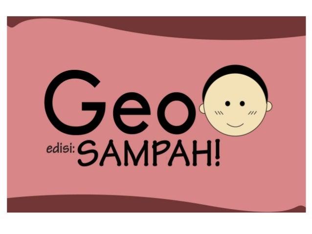 Serial Komik Geo #1: SAMPAH