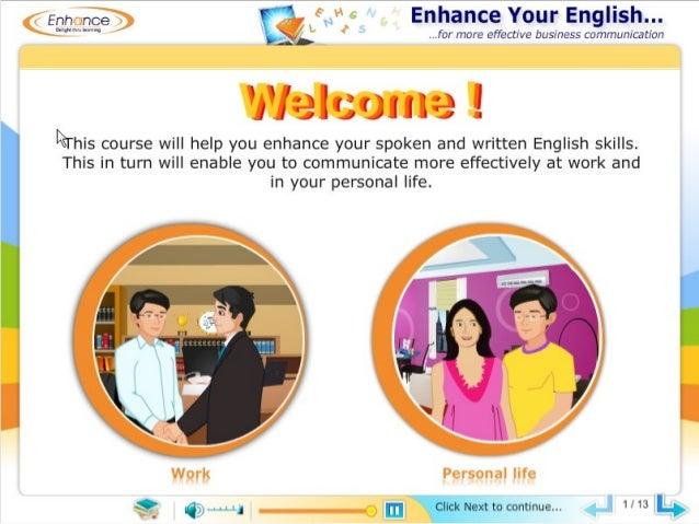 Demo: Enhance your English