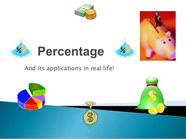And its applications in real life!
