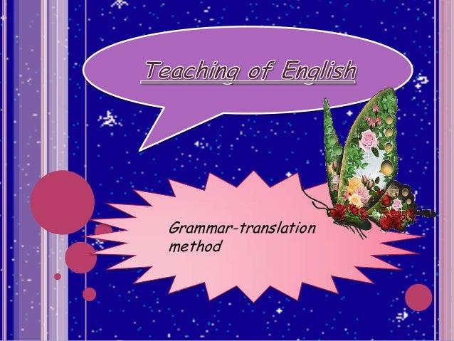 Grammar-translationmethod