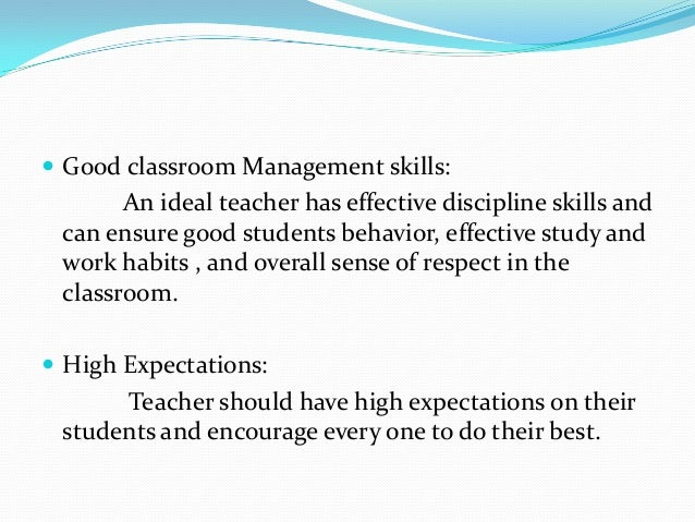 perfect teacher essay The perfect teacher - school essay example at school we always mention how good or bad our teachers are but we don't know.