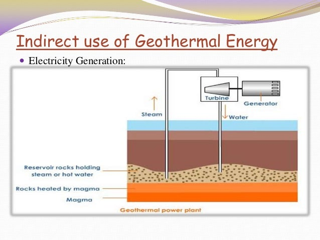 Presentation on Geothermal Energy
