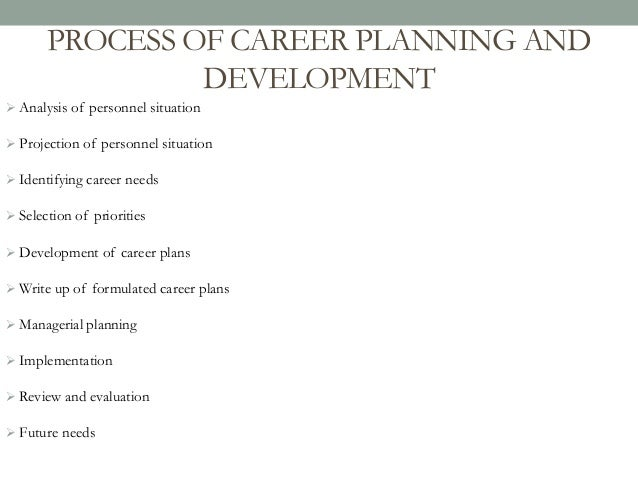how to write a career plan