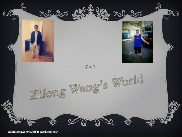 Zifeng Wang's World